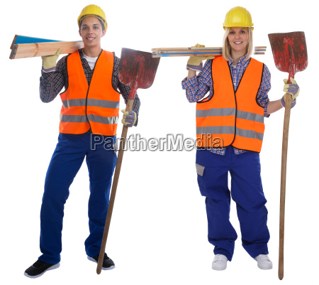 young construction workers professional workers construction