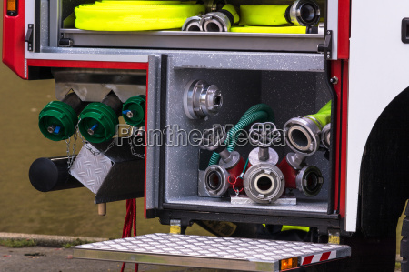 firefighting equipment in an erase groups