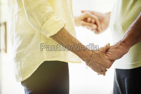 close up of a senior couple