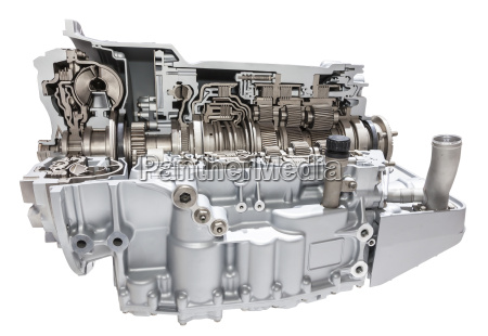 automatic transmission of a truck