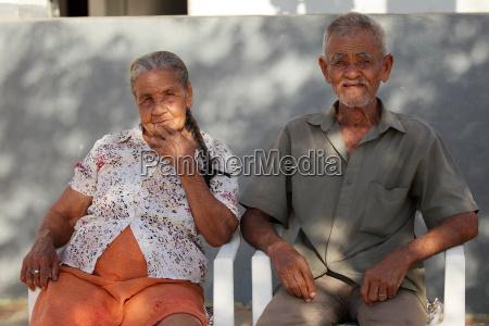 altes ehepaar in brasilien