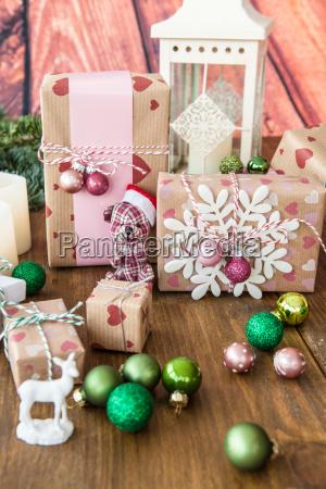 kleine geschenke und weihnachtsdeko