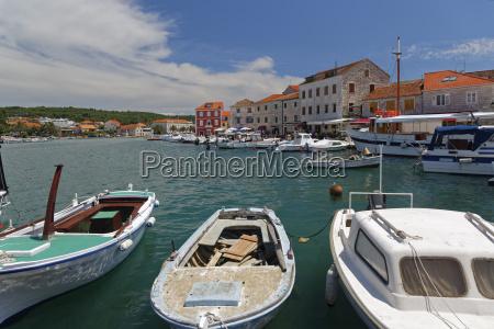 croatia hvar stari grad harbour