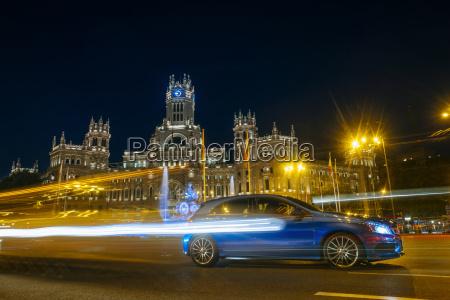 spanien madrid madrid city hall und