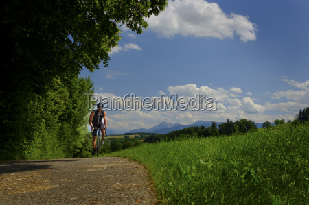 germany upper bavaria chiemgau bicycle tour