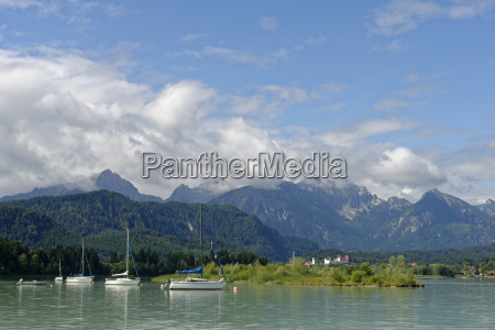 germany bavaria swabia east allgaeu schwangau