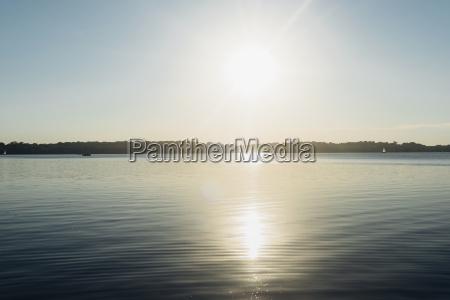 germany saxony leipzig lake cospuden at