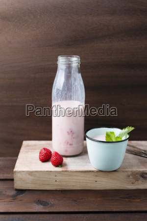 strawberry buttermilk