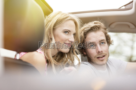 portrait of young couple in a