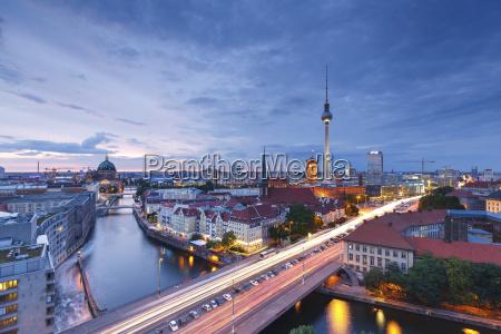 deutschland berlin berlin mitte fischerinsel und