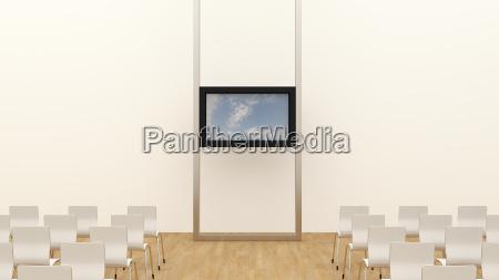buero konferenzraum modern moderne arbeitsstaette wolke