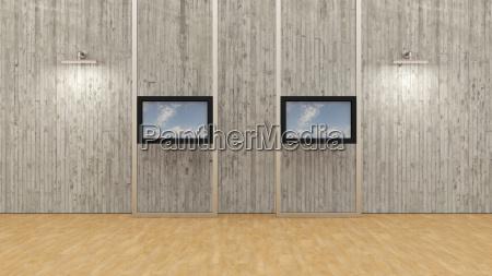 konferenzraum modern moderne wolke symmetrie verbindung