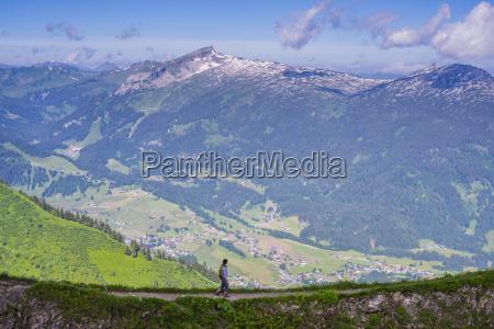 austria vorarlberg allgaeu alps panorama from