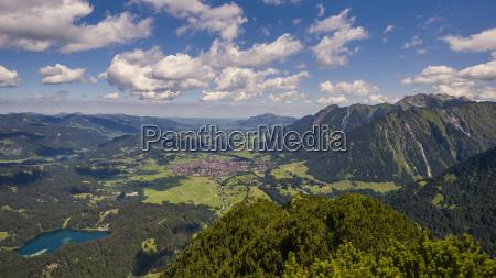 germany bavaria allgaeu iller valley oberstdorf