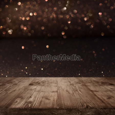 festive christmas background with shimmering light