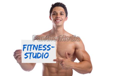 bodybuilding bodybuilder muskeln fitnessstudio studio gym