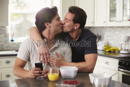 male gay couple in their 20s