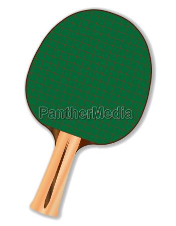 ein tischtennisschlaeger