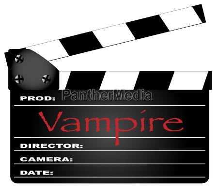 vampir clapperboard