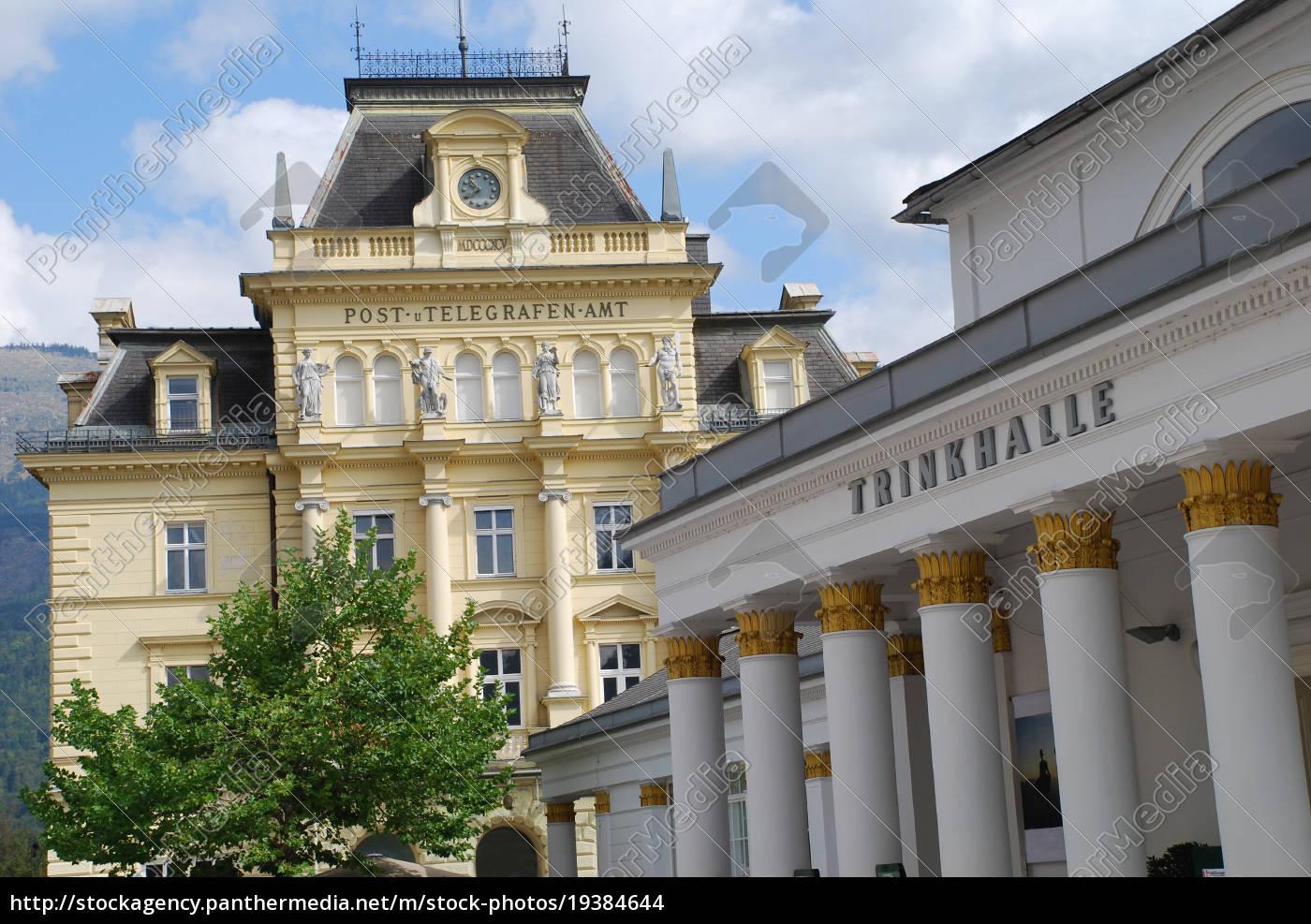 trinkhalle, bad, ischl, Österreich, austria, salzkammergut - 19384644