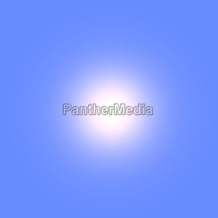 sonne am blauen sommerhimmel