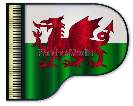 klavier wales grossartig walisisch