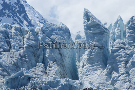 view of margerie glacier at glacier