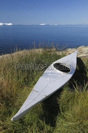 traditional sea kayak ilulissat qaasuitsup disko