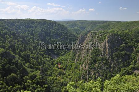 bode gorge thale harz district saxony