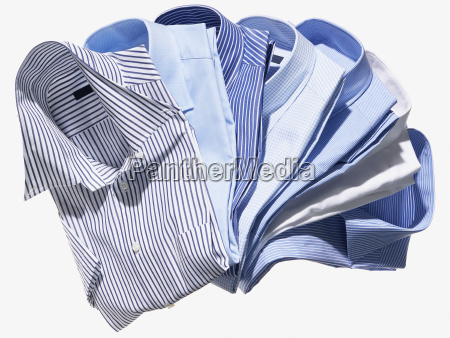 group of blue and striped mens