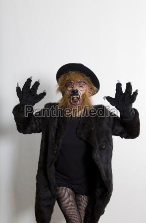 sexy werewolf woman