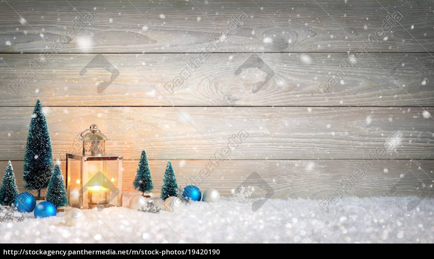 Hintergrund Weihnachten.Stock Bild 19420190 Weihnachten Holz Und Schnee Hintergrund Verziert Mit Einer