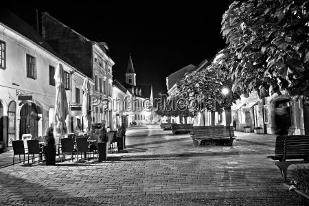 paseo viaje noche negro tarde estilo