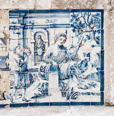an azulejo a form of portuguese