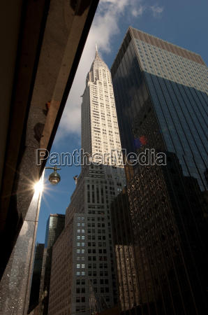 chrysler, building, and, lexington, avenue, new, york - 19451734