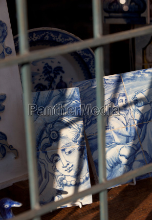 azulejos traditional glazed tileworks famous from