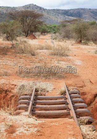 afrika kenia savanne transport transportieren vergangen