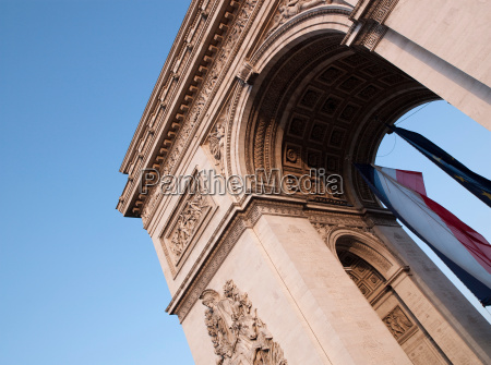 tourismus gewoelbe paris frankreich outdoor freiluft