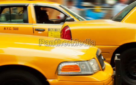 taxicabs in new york city usa