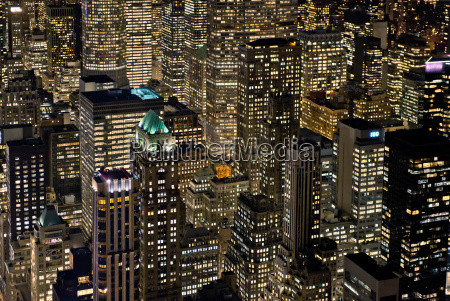 blick, auf, manhattan, new, york, city, usa - 19459476
