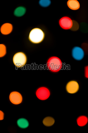 multicolored electric lights abstract