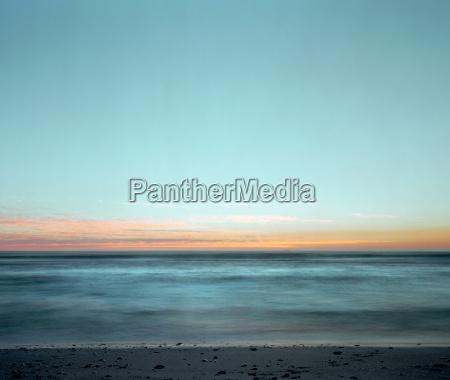 horizont strand abend outdoor freiluft freiluftaktivitaet