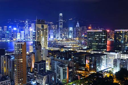 hong kong city skylines