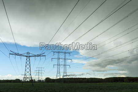 energie strom elektrizitaet weitwinkel outdoor freiluft