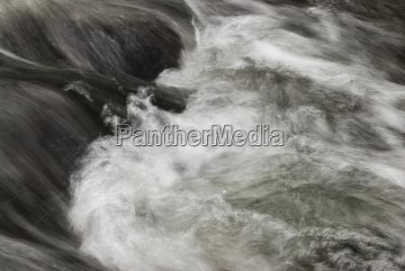 long exposure close up of bubbling