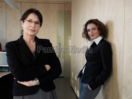 portrait of business women