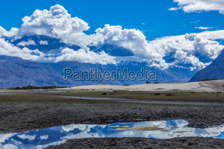hunder nubra valley ladakh india