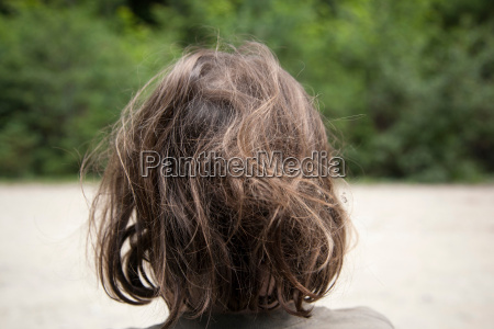 girl's, uncombed, hair - 19507080