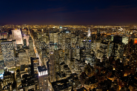 blick, auf, manhattan, new, york, city, usa - 19508168