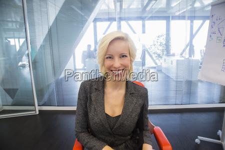 mid adult woman smiling portrait
